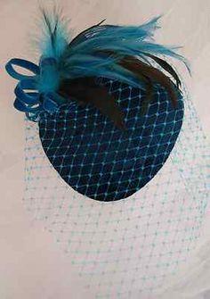 Vintage Teal Hat
