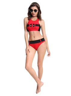 Deadpool Swim Set ~ $40 ~ Marvel Summer Fashion!