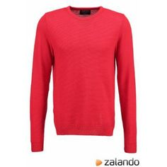 Burton Menswear London Jumper red #sweater #men #covetme