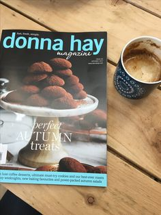 Coffee and a great read thanks Donna Hay Coffee Dessert, Fall Treats, Roast, Baking, Simple, Desserts, Food, Tailgate Desserts, Meal