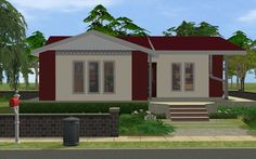 Mod The Sims - Striped House