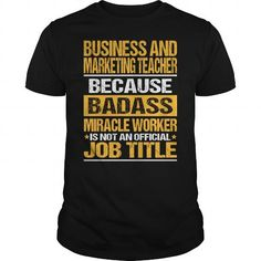 Awesome Tee For Business And Marketing Teacher T-Shirts, Hoodies (22.99$ ==► Order Here!)