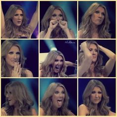 Celine's funny faces