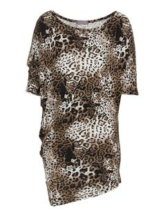 f3d914734e5 Asymmetrical top - Animal Print Fresh Outfits, Best Brand, Buy Shoes,  Asymmetrical Tops