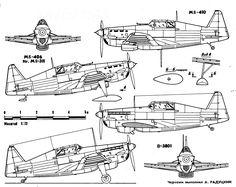 Morane-Saulnier M.S.406 variants:MS-406.Nr.MS-311. MS-410. D-3801