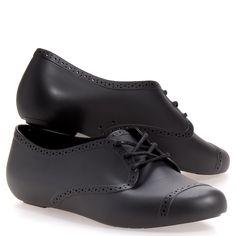 Mel By Melissa Lemon Ii Women's Oxford/Loafer Shoes: Black 7