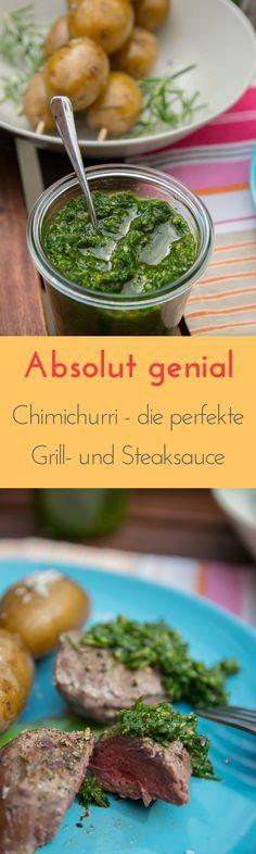 Chimichurri ist die perfekte Grill- oder auch Steaksauce und ruck zuck zubereitet - absolut lecker