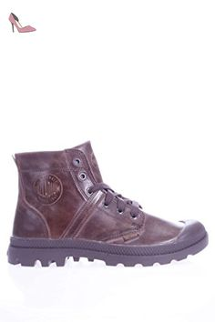 Palladium Homme polonais pacal0039P222Pallabrouse Leather - marron - marron, 42 EU EU - Chaussures palladium (*Partner-Link)