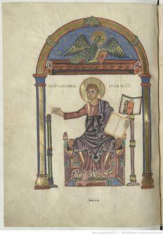St John Evangelia. 821-836 http://gallica.bnf.fr/ark:/12148/btv1b55005656f/f434.highres