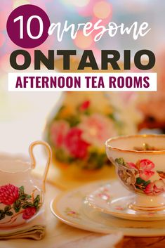 Are you looking for a fun day trip in Ontario? Here are 10 awesome Ontario Tea Rooms you can visit for afternoon tea that are perfect for celebrating a special event with family or a girlfriends weekend trip. I tea rooms in Ontario I Ontario cafes I cafes in Ontario I places to get tea in Ontario I Afternoon tea in Ontario I Ontario afternoon tea rooms I things to do in Ontario I places to go in Ontario I experiences in Ontario I afternoon tea rooms in Ontario I Ontario travel I #Ontario… Ontario City, Ontario Travel, Toronto Travel, Alberta Canada, Travel Guides, Travel Tips, Travel Destinations, Travel Advise, Travel Hacks