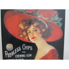 Vintage Peerless Chewing Gum Metal Advertisement Reproduction by... ($25) ❤ liked on Polyvore featuring home, home decor, wall art, vintage home accessories, vintage signs, vintage metal signs, metal signs and metal home decor