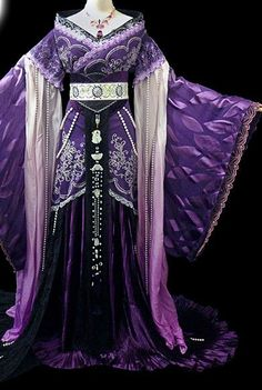 Chinese Women Royal Hanbok Kimono Stage Opera Costume Dresses Costume Ancient…