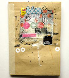 new art journal for 2012 by mumkaa_, via Flickr...takes you to a talented flckr page