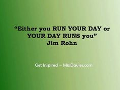 Run your day!