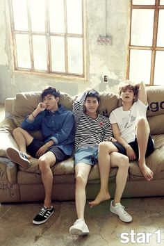 EXO Members Suho, Baekhyun, and Chen Are Featured in @star1 Magazine | Koogle TV