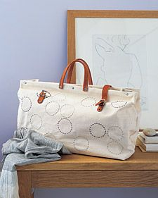 DIY tote...cute cute #sewing_tutorial #tote