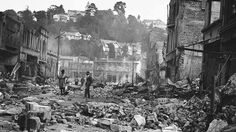 Bill ✔️ 3 February 1931 earthquake Napier New Zealand. My father survived the quake but was hospitalised. South Pacific, Pacific Ocean, Napier New Zealand, State Of Arizona, Art Deco Fashion, Caption, February