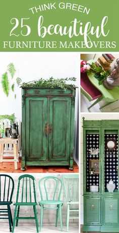 Green not your color? These 25 Beautiful Furniture Makeovers may change your mind!