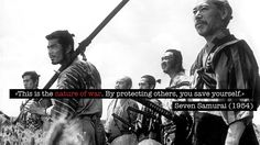 Akira Kurosawa rules (quote from Seven Samurai) - what to know about Japanese movies http://wildgrounds.com/2012/07/10/what-to-know-about-japanese-movies/