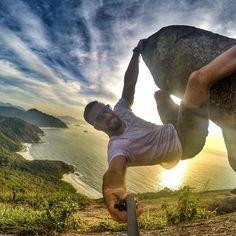 """""""#FamiliaGopro #PedradoTelegrafo  By @brunosantospereira  #Gopro"""" Gopro, Selfies, Selfie Stick, Playground, Wanderlust, World, Instagram, Fun, Travel"""