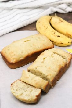 Low-Calorie Banana Bread - Simply Low Cal Chickpea Recipes Easy, Healthy Dessert Recipes, Breakfast Recipes, Snack Recipes, Cooking Recipes, Keto Recipes, Healthy Desserts, Vegetable Recipes, Healthy Foods