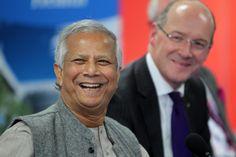 Prof Yunus and John Swinney