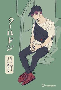 Marvelous Learn To Draw Manga Ideas. Exquisite Learn To Draw Manga Ideas. Character Art, Character Design, Boy Illustration, Manga Boy, Anime Artwork, Boy Art, Manga Drawing, Pretty Art, Anime Style