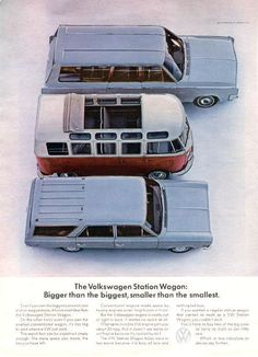 Volkswagen station wagon. Bigger than the biggest