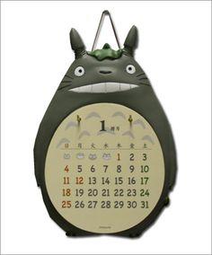 Totoro calendar