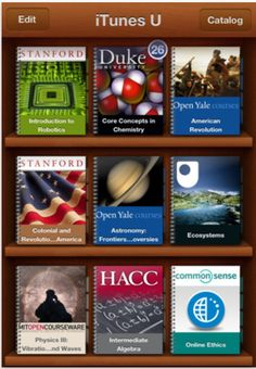 iTunesU has courses with over 500,000 lectures, courses, books, and videos.  All FREE!