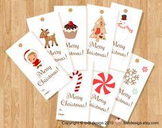 todi: Cute Christmas Gift Tags