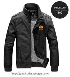 Jaket kulit barcelona bordir wa/line/hp : 081703402482 pin bb : d5c80381