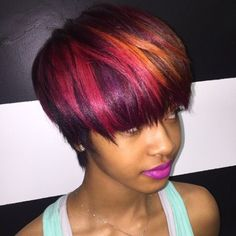 Layered Bowl Cut For Thick Hair