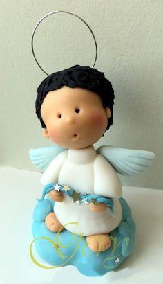 tortas bautizo angel - Buscar con Google
