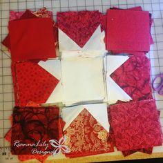 Patriotic Wonky Star Quilt | Jen Eskridge | ReannaLily Designs