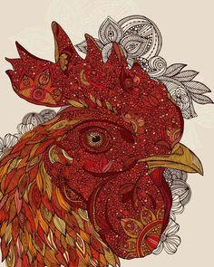 Way beyond zentangle.  Intricate animal portraits by artist Valentina Ramos.