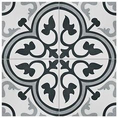 EliteTile Mora Classic x Ceramic Field Tile in Grey/White Mosaic Tiles, Wall Tiles, Marble Mosaic, Cement Tiles, Backsplash Tile, Wall Mural, Mora Classic, Outdoor Kitchen Countertops, Kitchen Backslash