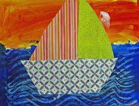 Easy Sailboat Art Lesson