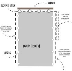 Looking for a unique way to cover your windows? These DIY drop cloth roman shades are easy and a great way to change up the look of your rooms. Roman Curtains, Drop Cloth Curtains, Diy Curtains, Diy Window Shades, Diy Roman Shades, Drop Cloth Projects, Diy Projects, Deck Shade, Canvas Drop Cloths