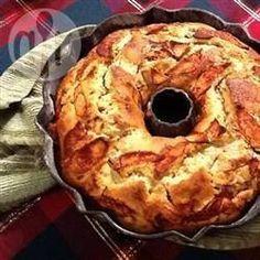 Pastel de manzana con naranja @ allrecipes.com.mx