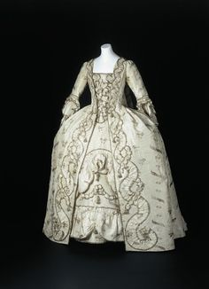 Robe a la francaise ca. 1770  From theState Museums of Berlin