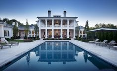 This stunning home is a must-see! Image: Reed Brown Photography; architect Kevin Coffey of Dwellings/Design, builder & design team: Castle Homes; hardscape and landscape design Page|Duke