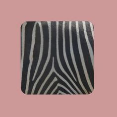 Perfectly Zebra Print Beverage Coasters  4.6 (15 reviews)  In stock!  Quantity:  set of 6 coasters.  Add to wishlist  $26.95  per set of six