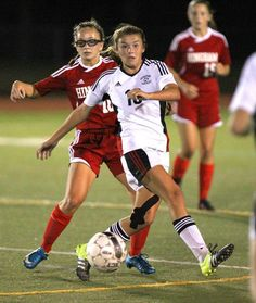 Lauren Bonavita had two goals and an assist Thursday night in leading the Panthers to a 3-0 home win over Hingham.