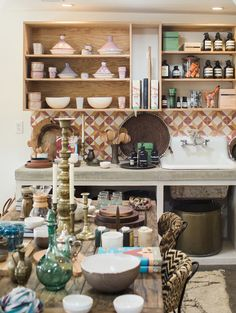 In the Field in Ojai / Such a great variety of vintage pieces, home decor, and accessories here. #RAV4Hybrid Thanks Toyota for helping us discover so many treasures!