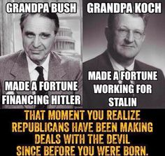 George and Jeb Bush's grandfather, the late US senator Prescott Bush, was a director and shareholder of companies that profited from their involvement with the financial backers of Nazi G ermany. His business dealings, which continued until his company's assets were seized in 1942 under the Trading with the Enemy Act, has led more than 60 years later to a civil action for damages being brought in Germany against the Bush family by two former slave labourers at Auschwitz and to a hum of…