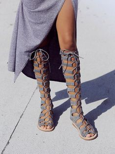 Jeffrey Campbell + Free People Rae Sandal at Free People Clothing Boutique