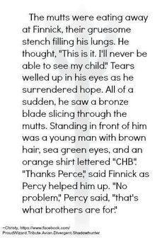 Percy Jackson saves Finnick Odair. THE FEELS!