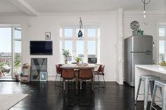 Un precioso y luminoso apartamento en Goteborg | Decorar tu casa es facilisimo.com