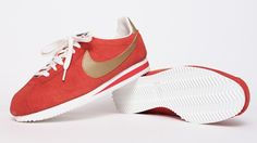 Nike Cortez Vintage Red Nike Shox, Nike Flyknit, Nike Cortez Vintage, Nike Fashion, Men's Fashion, Reebok, Converse Style, Baskets Nike, Adidas